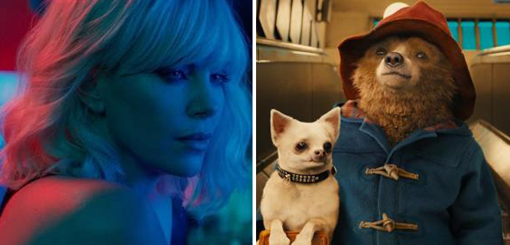 Paddington 2 and Atomic Blonde top our daily movie news roundup!