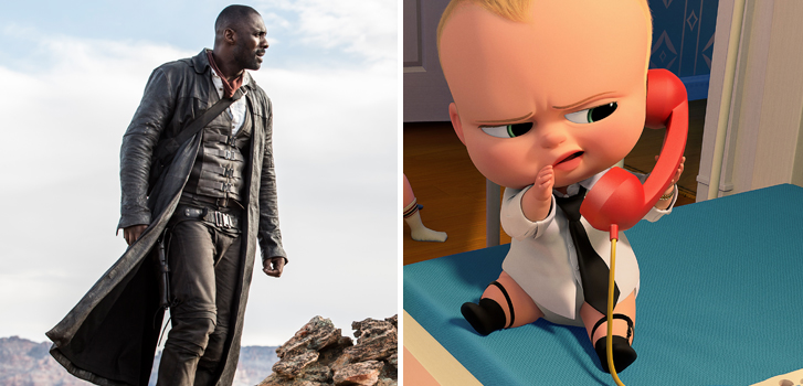 New The Dark Tower poster, The Boss Baby trailer, and more make our daily roundup!