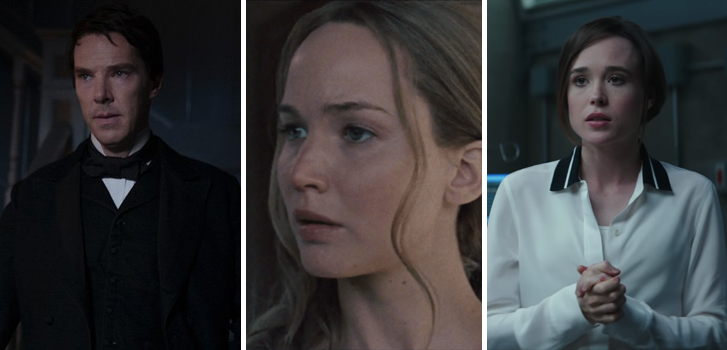 The Current War, mother! and Flatliners all have new trailers in today's roundup