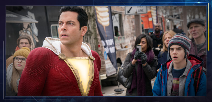 Watch Zachary Levi and the cast of Shazam! gush about Toronto at the Canadian premiere