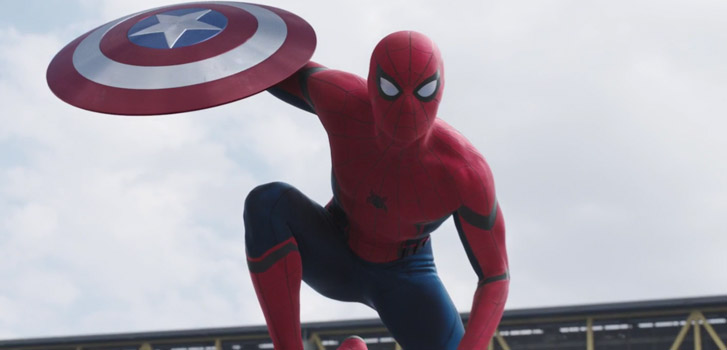 We get our first look at Tom Holland's Spider-Man in new Captain America: Civil War trailer