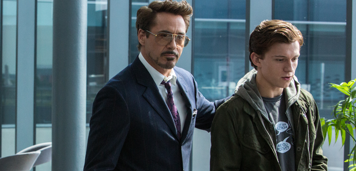 spider-man: homecoming, iron man, robert downey jr., tom holland, movie, spider-man, trailer, newest, latest, news, cinemacon,