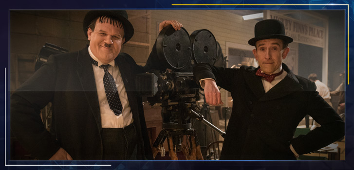 John C. Reilly and Steve Coogan on filling Laurel and Hardy's shoes in Stan & Ollie