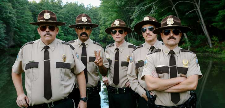 Making fun of Canada with the cast of Super Troopers 2
