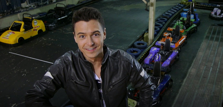 The Fate of the Furious go-karting with Tanner Zee!
