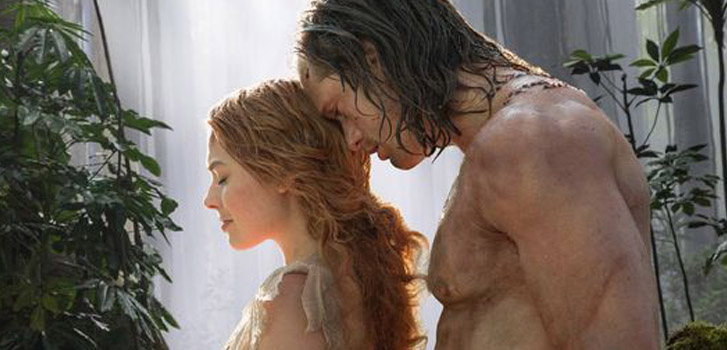 alexander skarsgard, margot robbie, the legend of tarzan, image