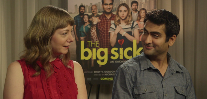 The Big Sick's real life couple Kumail Nanjiani and Emily V. Gordon talk their hit indie comedy