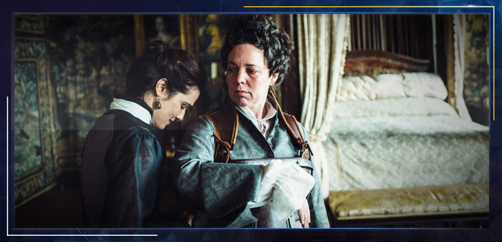 The Favourite definitely isn't your mother's period piece