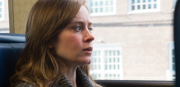 emily blunt, the girl on the train, image