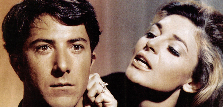 the graduate, dustin hoffman, Anne Bancroft, cineplex, events, classic movies