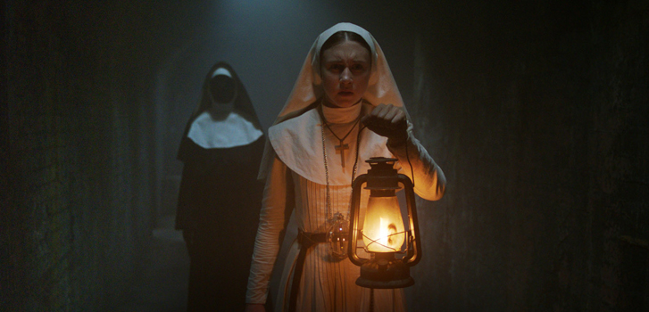 the nun, taissa farmiga, the conjuring, horror, movie, film, tickets, buy tickets, buy tickets online,