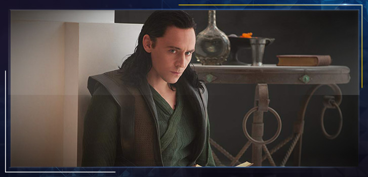 Tom Hiddleston as Loki: The source of all mischief
