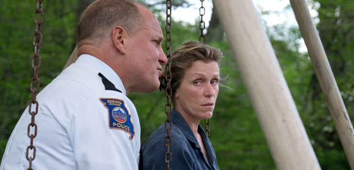Three Billboards Outside Ebbing Missouri and all the Winners at the 2018 Golden Globes