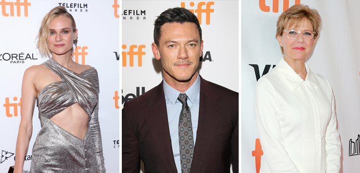 Diane Kruger, Luke Evans and Annette Bening brought their films to #TIFF17 on Tuesday night!