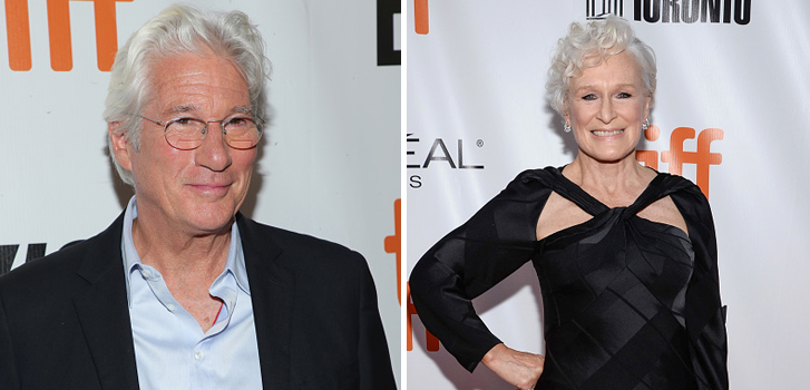 Richard Gere and Glenn Close brought their films to the Toronto International Film Festival on Thursday night!