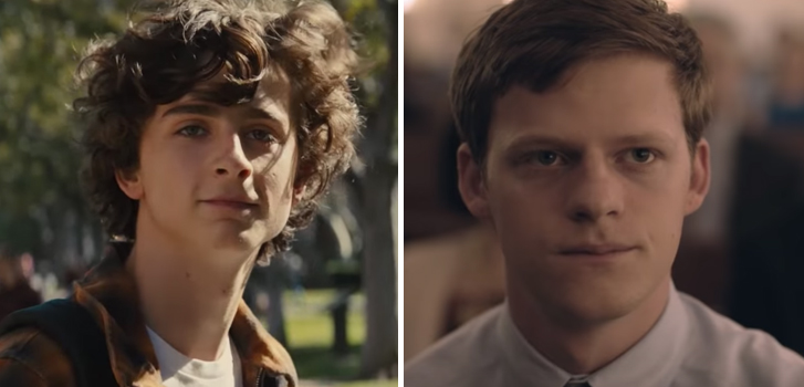 timothee chalamet, lucas hedges, beautiful boy, boy erased, call me by your name, movie, film, tiff,