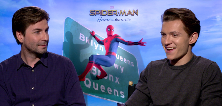 Tom Holland and cast talk Spider-Man: Homecoming
