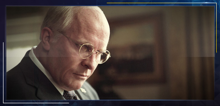 Christian Bale on his latest unbelievable transformation into Dick Cheney