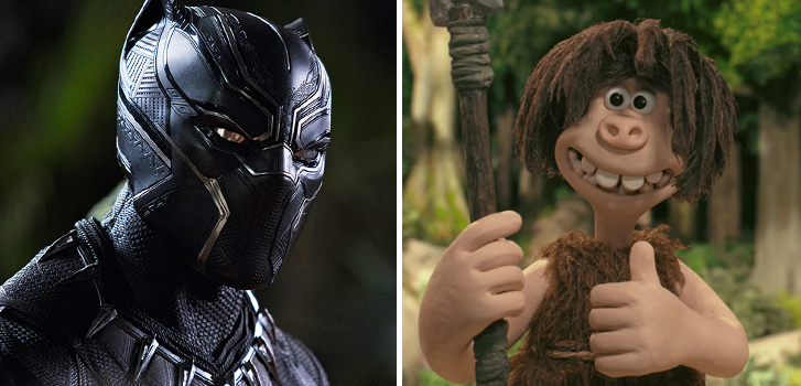 Black Panther and Early Man top our What to Watch weekend Preview