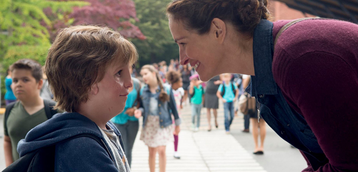 jacob tremblay, julia roberts, wonder, interview,