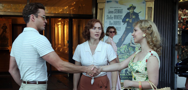 EXCLUSIVE: Kate Winslet and Jim Belushi get in trouble in the first trailer for Wonder Wheel