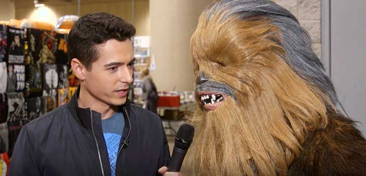 Speaking Wookie with Star Wars fans for Solo: A Star Wars Story